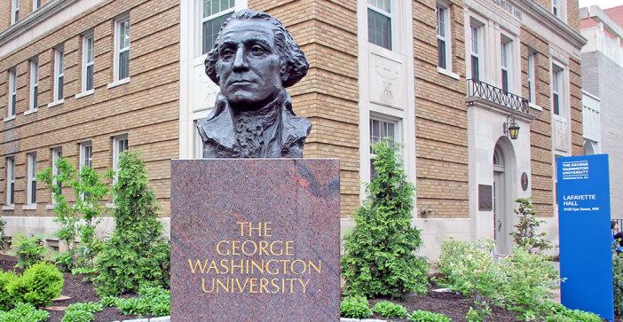 George washington university professor says she lied about being black
